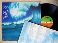 Boney M Oceans Of Fantasy (Fold-Out Poster Cover) A4 B4 UK LP K 50610 1979 EX/EX