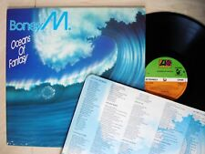 Boney M Oceans Of Fantasy (Fold-Out Poster Cover) A4 B4 UK LP K 50610 1979 EX/EX