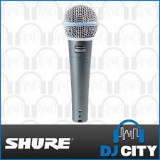 Shure BETA58A Professional Dynamic Vocal Microphone - 1 Year Warranty - DJ Ci...