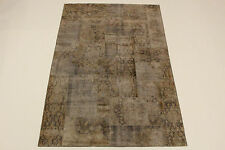 moderne Patchwork Délavé Used Look PERSAN TAPIS tapis d'Orient 2,75 X 1,82