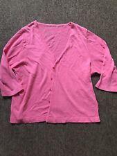 Womens Ladies Girls Cardigan Size 12 Pink