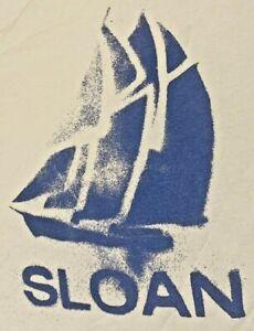 Official Vintage Sloan Sky Blue Size Medium T Shirt Teenage Fanclub Big Star