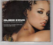 (HI542) Alicia Keys, You Don't Know My Name - 2003 CD