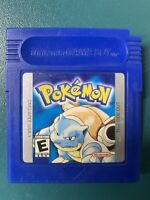 Pokemon Blue Version (Game Boy, 1998) 100% Authentic & Tested SAVES + CLEAN