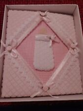 Baby Girl Photo Album Pink With Bottle on Front