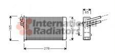 Wärmetauscher Innenraumheizung - van Wezel 03006097