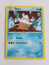 Carte pokémon blizzi 25/101 commune noir et blanc explosion plasma