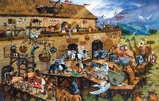 IT'S A ZOO 1000 Pc Puzzle Noah Ark Animals  Sunsout