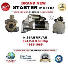 FOR NISSAN URVAN E24 2.3 D 69 bhp 1988-1989 BRAND NEW STARTER MOTOR 2.1kW 9Teeth