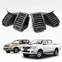 For Toyota Hilux Vigo Mk6 SR5 2005 - 14 Air Vent Ventilator Grille Black Set 4Pc