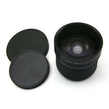 58 mm 0.21x  Wide Fisheye Lens for Canon Nikon Sony DSLR Camera 0.21x 58mm
