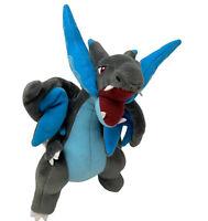 Pokemon Mega Charizard Plush Grey Dragon Winged Video Game Stuffed Animal Toy