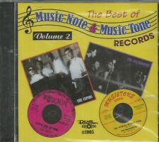 MUSIC NOTE AND MUSIC TONE - CD - The Best Of - Volume 2 - BRAND NEW