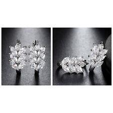 Zauberhafte Ohrringe mit Austria Crystal Zirkonia 925 Silberlegierung NEU + TOP