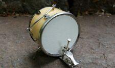 Miniature Bass Drum Wood Tone