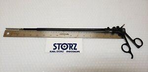 Storz 30420GF Clickline Laparoscopic Atraumatic Forceps 10mmx39cm Handle 33125