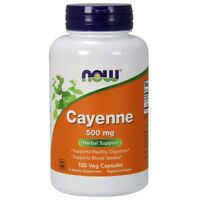 Now Foods CAYENNE Pepper 500 mg - 100 caps - Heart & Digestive Health DIGESTION
