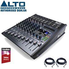 Alto Live 802 Professional 8 Channel 2 Bus USB Mixer Studio Mixing Desk with FX