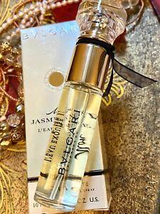 BVLGARI  Mon Jasmin Noir L'EAU EXQUISE edt  0.34oz  Spray NIB 100% Authentic