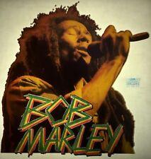 Bob Marley 80s Memorabilia Vintage retro tshirt transfer print,NOS