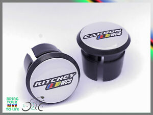 Ritchey Carbon WCS Handlebar Plugs end Caps Tapones bouchons lenker type 3