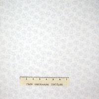 Wedding Fabric - Mr & Mrs Gray Bells on White - Benartex Kanvas Studio YARD