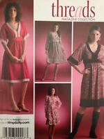 Simplicity Sewing Pattern 4072 0614 Ladies Misses Pullover Dress size 8-16 Uncut