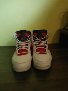 Size 9- Jordan Flight Club 91 White Black Red- No Box