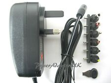 1800MA/2A 3/4.5/5/6/7.5/9/12 VOLT AC/DC POWER ADAPTOR/SUPPLY/PSU/CHARGER WA