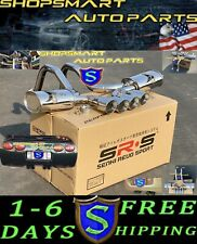 "SRS CATBACK EXHAUST FOR 97- 04 CHEVY CORVETTE C5/Z06 5.7L LS QUAD 4"" POLISH TIP"
