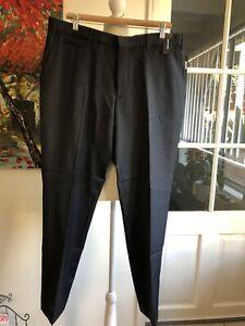 PIERRE CARDIN fine stripe suit men trouser PT922_VIKB 96R. RRP $144