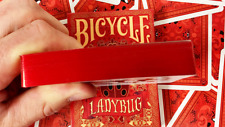 Limited Edition Bicycle GILDED Ladybug (Red) Playing Cards - USPCC
