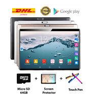 Tablet quad core Android 9.0, RAM 4gb, Memory 32gb, 10.1 inch dual sim + gift