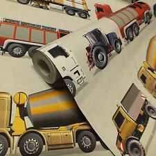 Camions, tracteurs, camions de pompiers & chariots élévateurs, garçons/filles chambre papier peint