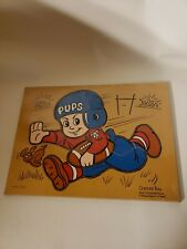 Connor Toy Wood/Wooden Jigsaw Puzzle Connor Toy Football Player PUPS 11 Pieces