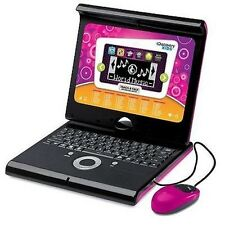 Childs Laptop Computer Learning Toy Educational Games Teach Talk Discovery Pink