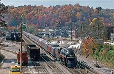 Original Photograph: Norfolk & Western 4-8-4 611 arr Oneida, TN (5 x 7)