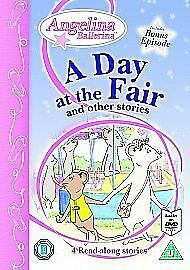 Angelina - A Day at the Fair and Other Stories [Interactive DVD] New - Sealed