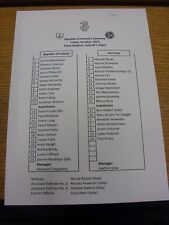 12/10/2012 Teamsheet: Republic of Ireland v Germany  . Thanks for viewing our it