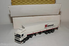 TEKNO DAF 95 TRUCK WITH TRAILER G. POSTMA ROTTERDAM DALESSI MINT BOXED RARE