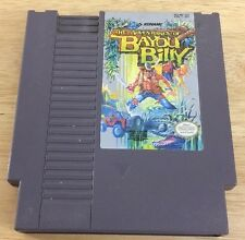 Adventures of Bayou Billy (Nintendo Entertainment System, 1989) Tested Nes Game