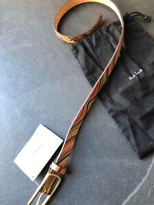 Paul Smith Ladies Swirl  Belt   XS  20mm width