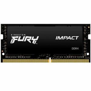Kingston Fury Impact KF432S20IB/8 8GB DDR4 3200MHz Non ECC Memory RAM SODIMM