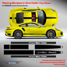 Porsche Carrera Vinyl Decal Racing Stripes kit in one