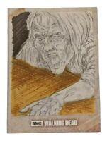 Topps Walking Dead Road To Alexandria Hand Drawn Sketch Card - Walker 1/1!