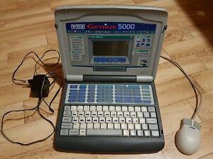 VTECH Genius 5000, ordinateur+souris+disquette mémoire+bloc note, très bon état