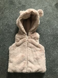 Baby Girl Gilet 6-9 Months
