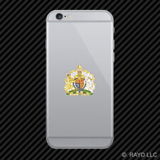 British Royal Coat of Arms Cell Phone Sticker Mobile United Kingdom flag GBR GB