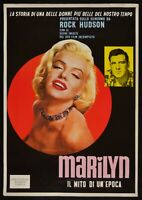 Manifesto Marilyn The Mito By A'Classic Monroe Rock Hudson Cinema Movie P06
