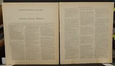 Missouri Harrison County Map Patron's Reference Directory 1917 Q5#98